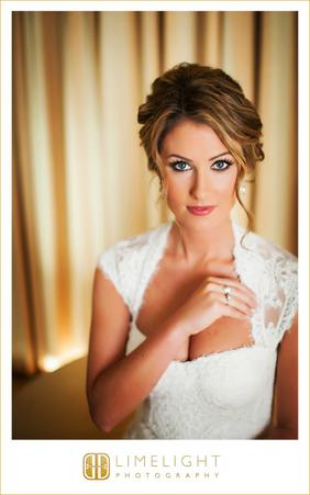 A woman enjoying our wedding makeup services in Sarasota, FL