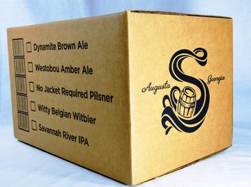 Custom beer case cartons
