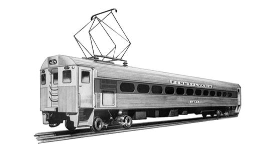 The Budd Pioneer III Railcar.