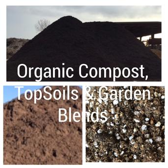 Organic Compost, TopSoils & Garden Blends