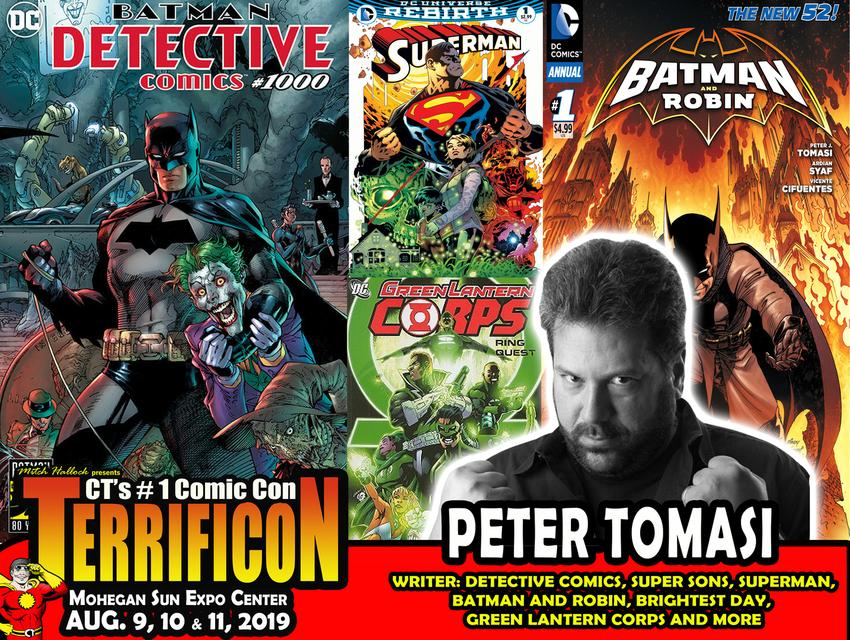 PETE TOMASI TERRIFICON BATMAN
