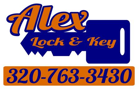 Alex Lock and Key Logo