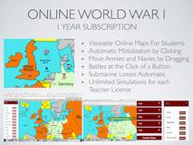 Online World War I Simulation Lesson Plan