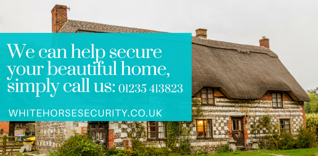 THATCHED COTTAGE, PERIOD HOME, HOME SECURITY, BURGLAR ALARMS