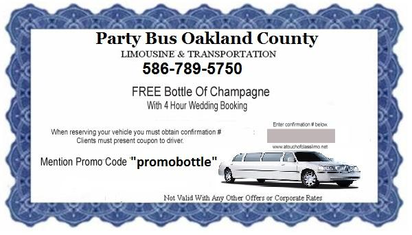 Party Bus Rental Coupons