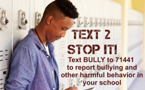 Text 2 Stop It Poster