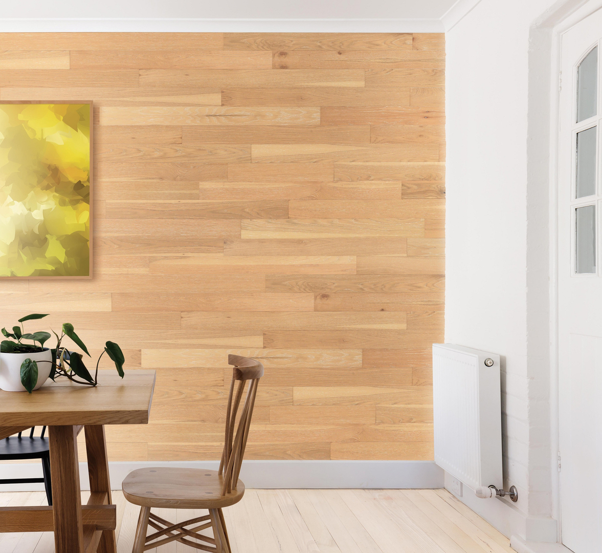 Peel and Stick Wood Wall Paneling | Wall Planks | Wall Panels ...
