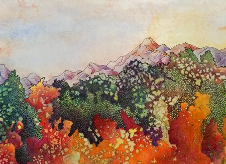 The Natural Accents Gallery of Taos, Exhibiting the works of Mixed Media Artist Sandy Applegate