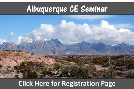 New Mexico chiropractic ce seminars Albuquerque continuing education chiropractor seminar credits near Santa Fe conference hours