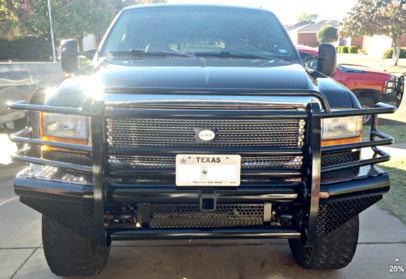 1999-2004 Ford F250/F350 Heavy Duty Front Replacement Bumpers