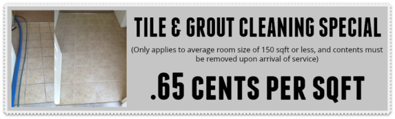 tile and grout cleaning specials