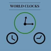 What time is it, World Clocks