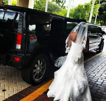 Black Hummer Wedding Limo Service