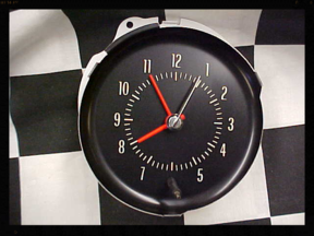 72 Chevy Chevelle Clock Repair