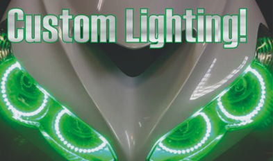 custom headlight installation canton ohio - harley davidson lighting ohio