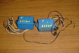 Used blue CD Module for an 85 hp and 125 hp Force outboard F685301 and 300-888788
