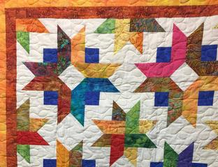 TCDR quilt front