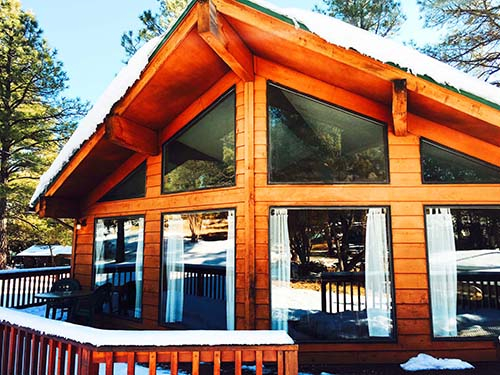 wildlife in ruidoso cabin cabins by surrounded