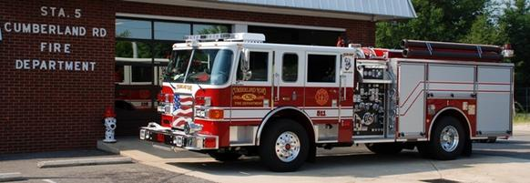Cumberland Road Fire Department in Fayetteville, Nc