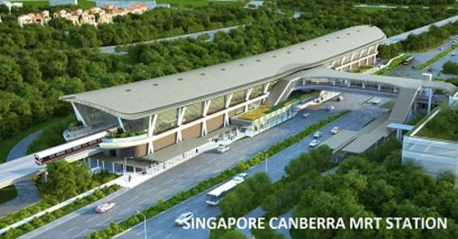 Singapore Canberra MRT Station - Jimmy Lea