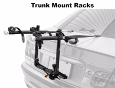 trunk mounted car rack