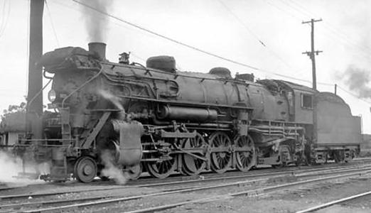 Lima-built L1c No. 2631 in 1930, after a feedwater heater was added.