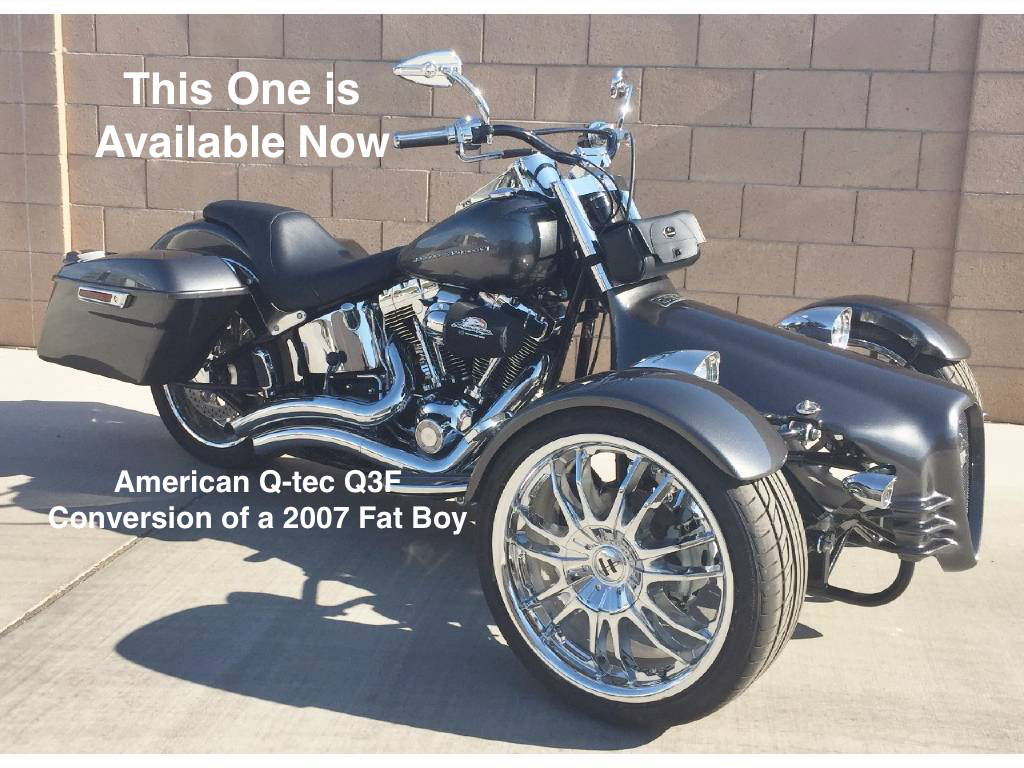 American Bike And Trike Motorcycle Conversions Trikes Quads