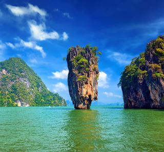 Luxury Crewed Charter Yachts Thailand James Bond Island Big Blue Yacht Charters Tropical South East Gulf of Thailand Gulf of Siam Andaman Sea