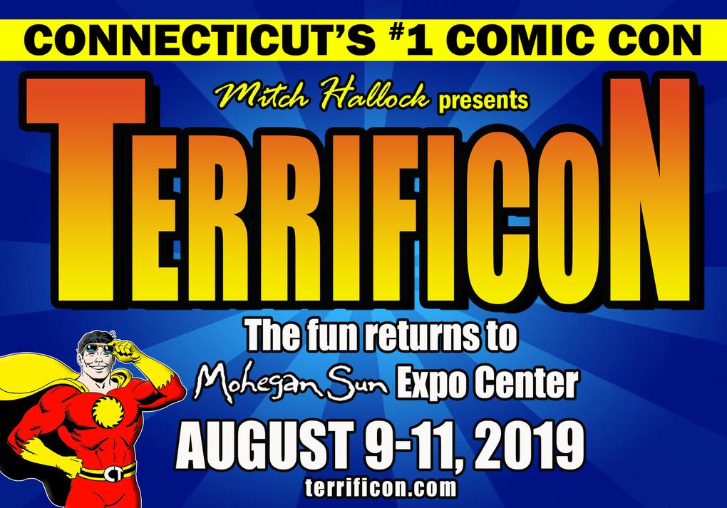 TERRIFICON CONNECTICUT'S COMIC CON