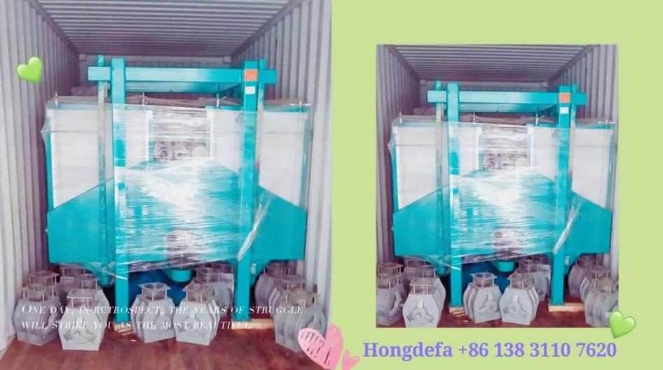 Hongdefa flour mill machinery loading container