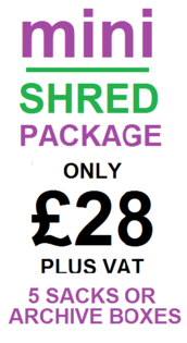 Go Shred Mini Shred Pricing for Domestic Shredding
