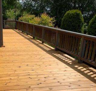 "2x6"" Knotty Western Red Cedar Decking"