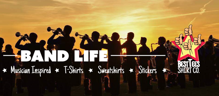 marching band musician tshirts