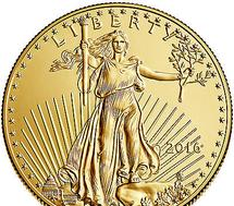 "With an iconic design and 1 oz of U.S. Gold, the American Gold Eagle combines the best aspects of collectibility and bullion investment appeal, which has made it America's preferred Gold coin. Coin Highlights: Contains 1 oz actual Gold weight. Multiples of 20 are packaged in mint tubes. Multiples of 500 are packaged in ""Monster Boxes."" All other coins will be in protective plastic flips. Obverse: Adapted from Augustus Saint-Gaudens' famed Gold Double Eagle design, which features Lady Liberty walking confidently against the sun's rays. Reverse: Designed by Miley Busiek, the reverse shows a male bald eagle in flight carrying an olive branch to his nest, where a female awaits with her young. Minted at West Point, N.Y. The Gold American Eagle quickly became the most popular Gold bullion coin in the United States since its release in 1986. Add this 1 oz Gold Eagle to your cart today! Dates you receive will be randomly selected and are determined by stock on hand."