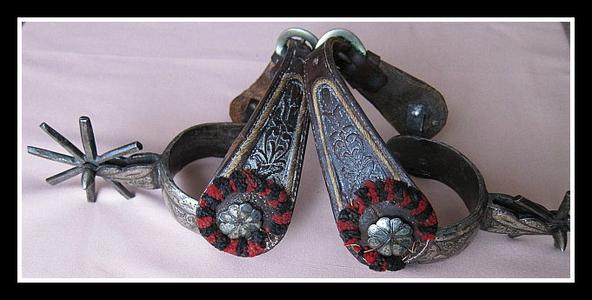 Silver Mounted Mexican Spurs
