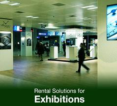 Rental Solutions for Exhibitions, Hire Display Solutions