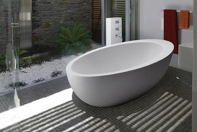 One of our modern bathtubs in Denver, CO