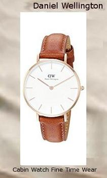 Daniel Wellington Classic Petite Durham in White 32mm DW00100172,daniel wellington
