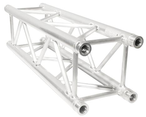 "Aluminum box truss 3.3 feet long by 12"" x 12"" high quality lightweight for exhibit booths."