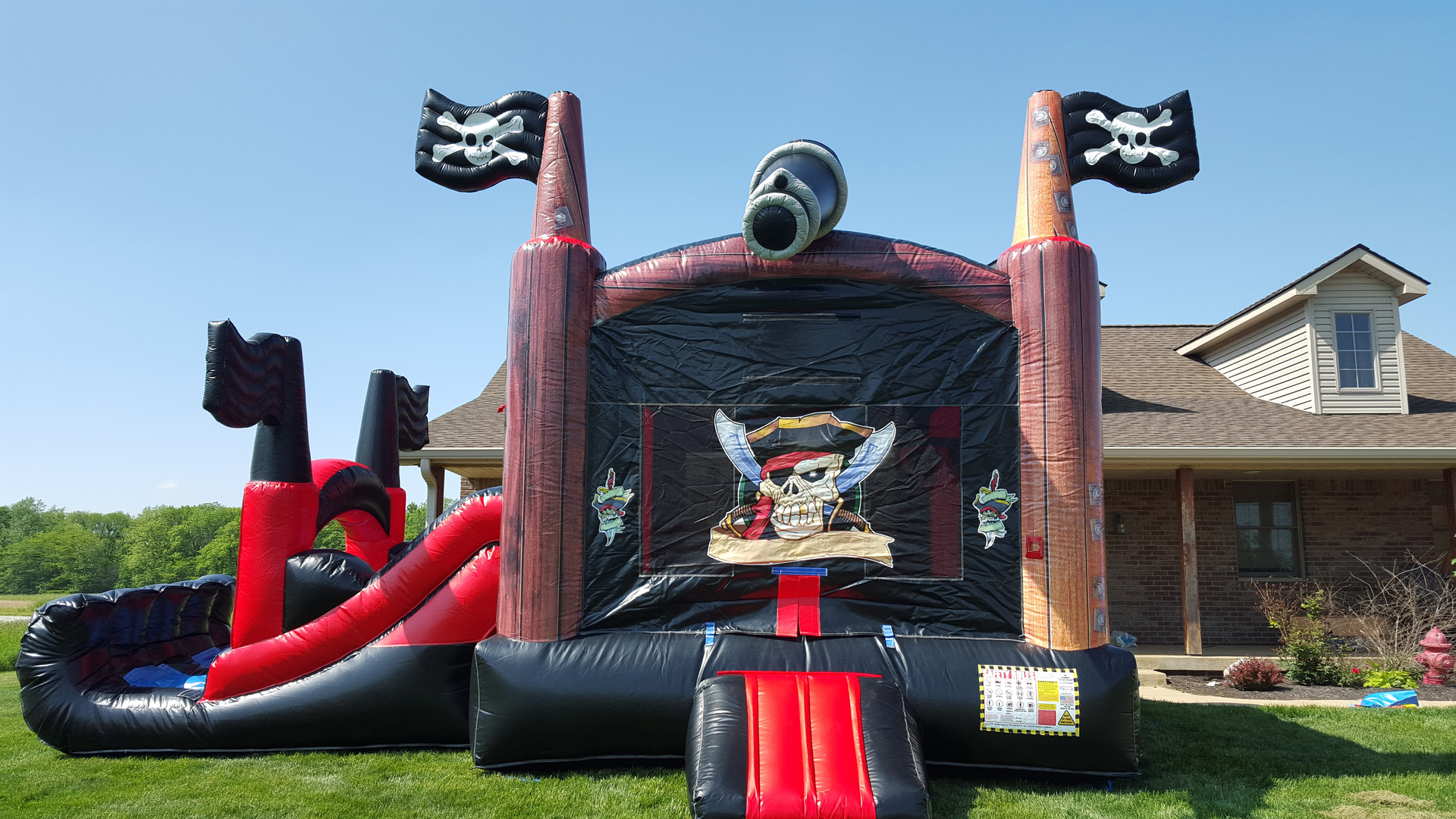 tampa bounce house rentals & inflatable games