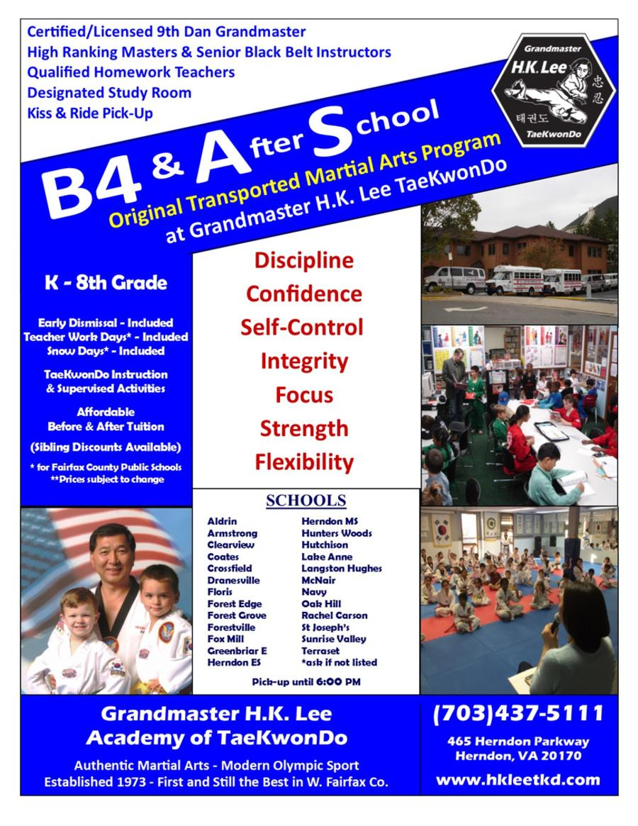 Flyer - Before and After School Program