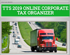 Tax Organizer give you a single form that gives us all the information we need to file your corporate taxes
