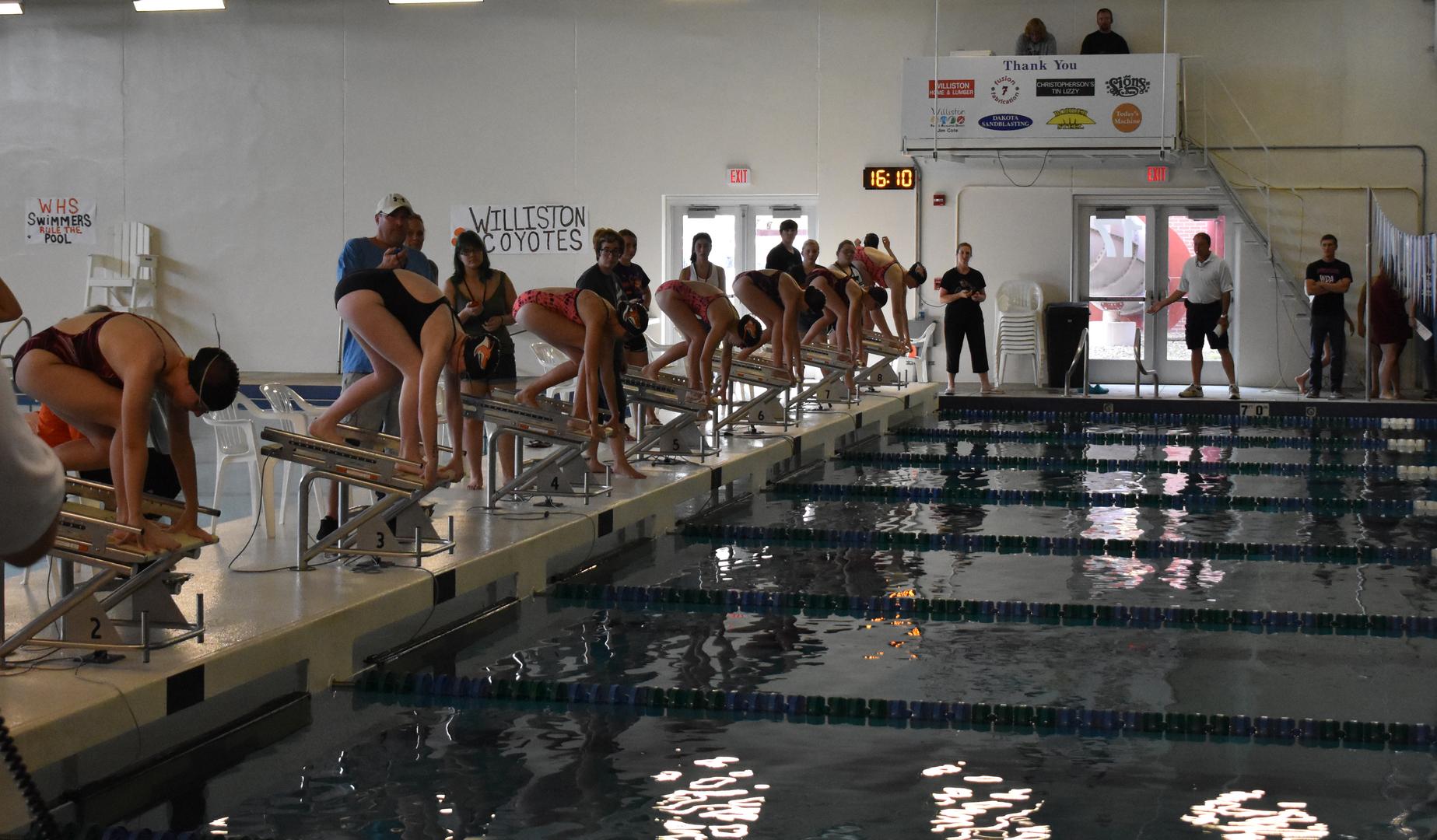 Swim-Dive Girls #