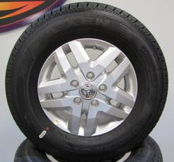 "DODGE PROMASTER 16"" ALLOYS WITH 10 PLY TIRES"