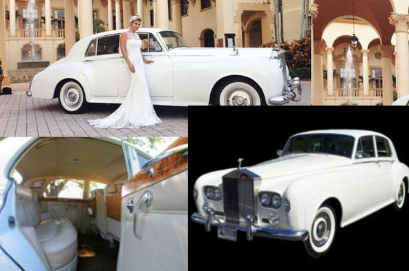 Vintage Wedding Limo Bentley