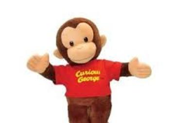 Hire Curious George Puppet show