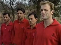 Craig Lawrence with the Gurkha team in Combat 89
