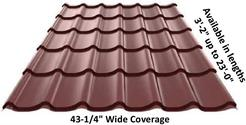 Stile Spanish Clay Tile Metal Roofing
