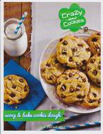 Crazy about cookies scoop and bake cookie dough tubs fundraising brochure