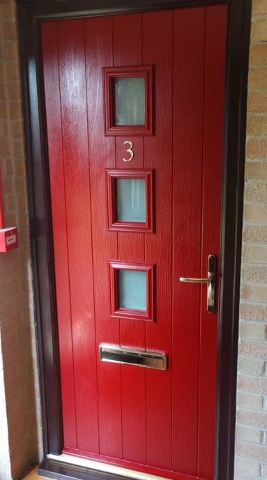 Composite fd30 fire door